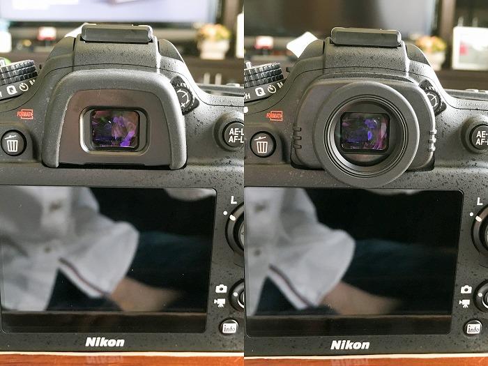 Nikon D7200 丸窓化