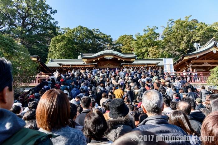 初詣 長崎諏訪神社