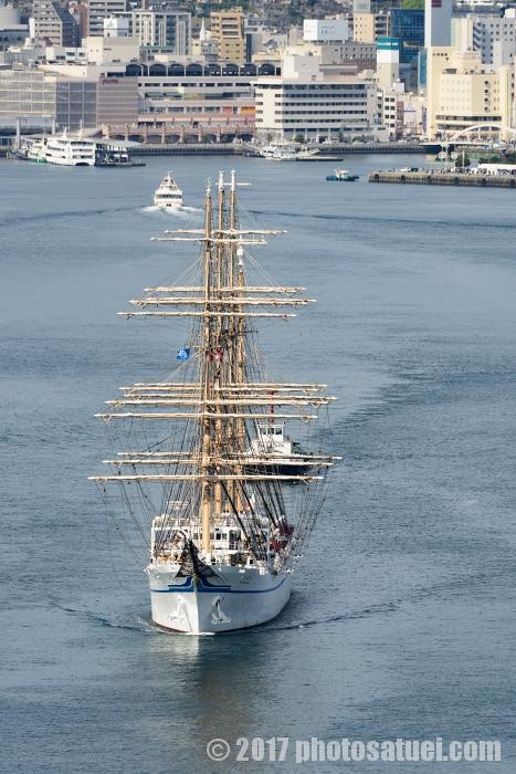 長崎帆船まつり 日本丸