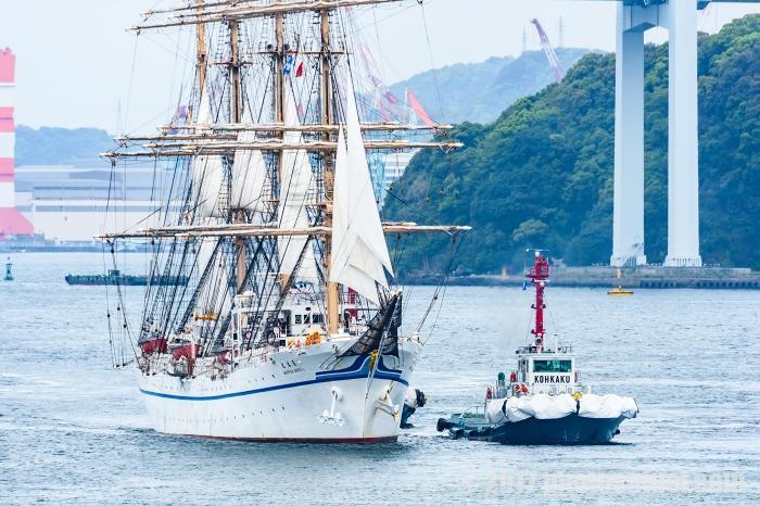 2017 長崎帆船まつり 日本丸