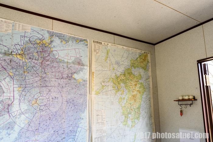長崎ハウステンボスヘリコプター遊覧飛行事務所内