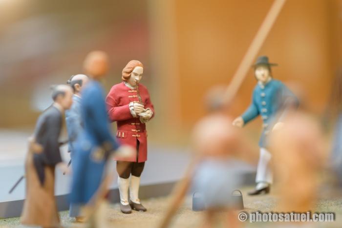 出島 人形