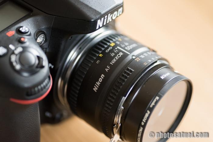 BR-2AとBR-3をカメラに取り付け