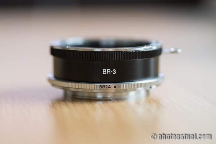 BR2AとBR-3で接写リング